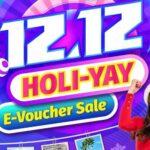 12.12 HOLI-YAY E-voucher Sale featured