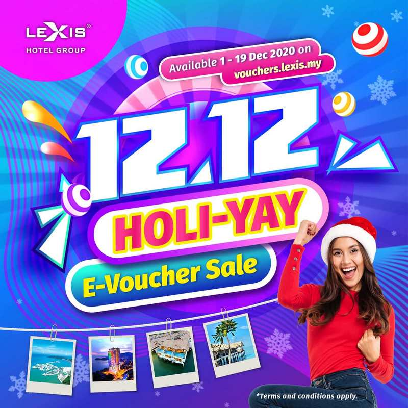 12.12 HOLI-YAY E-voucher Sale