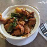 Curry Chicken Claypot Rice