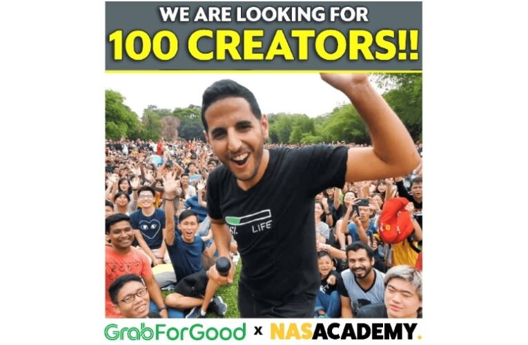 Grab and NAS Academy Team Up to Empower Southeast Asia's Content Creators to Create Impact
