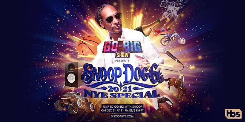 Snoop Dogg Virtual New Year's Eve Special