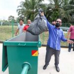 New Garbage Bins for Kampung Ulu Chemor