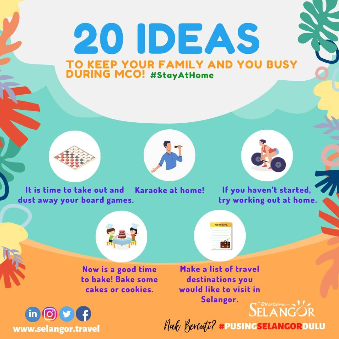 20 ideas at home