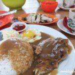4 mushroom chicken chop rice