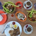 5 lunch at Family Food Court