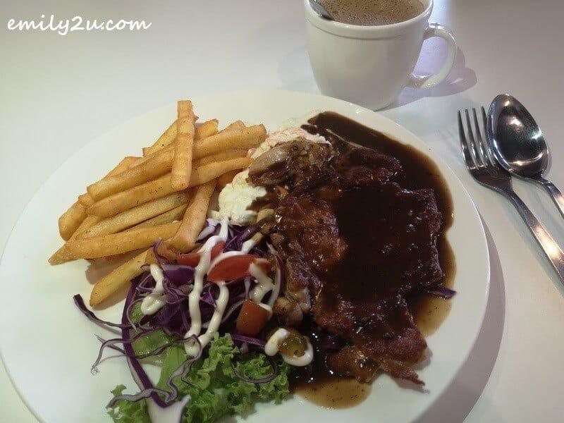 Black Pepper Grill Chicken Chop