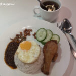 8 Nasi Lemak with Fried Chicken