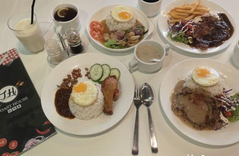 Asian / Western All-Day Set Meals From RM10.90 @ JH Toast House