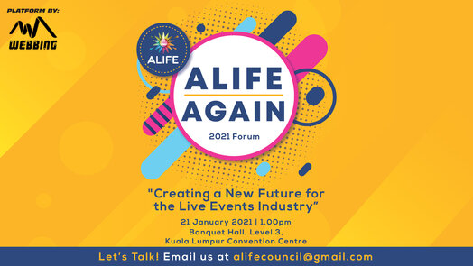 Alife Again: 'Creating a New Future For The Live Events Industry'