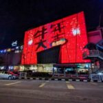 Ipoh Parade Spreads Festive Cheer Through its Outdoor LED Screen