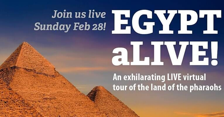 EGYPT aLIVE!: An Exhilarating Virtual Tour of The Land of The Pharaohs