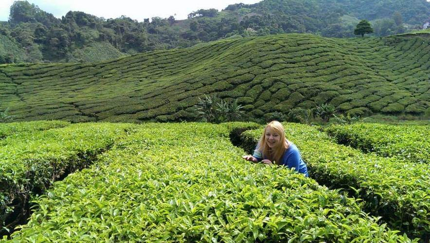 Zuzanna in Cameron Highlands