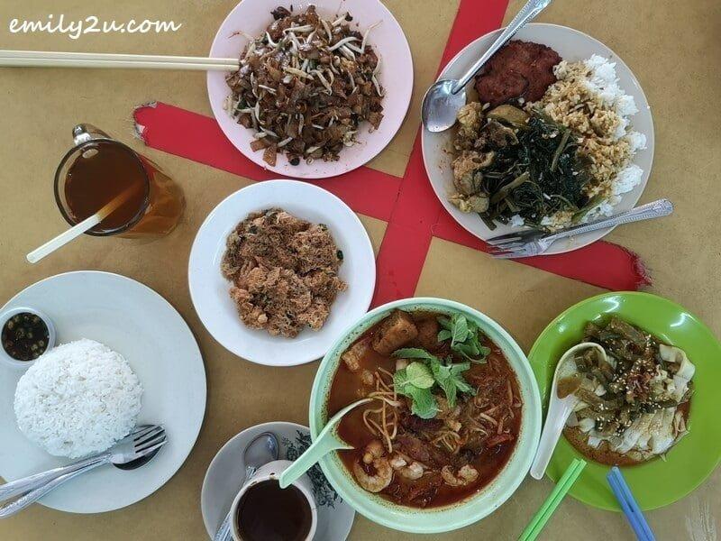 lunch at Kedai Kopi Chor Kee