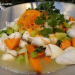 Stir-fried Squid with Celery