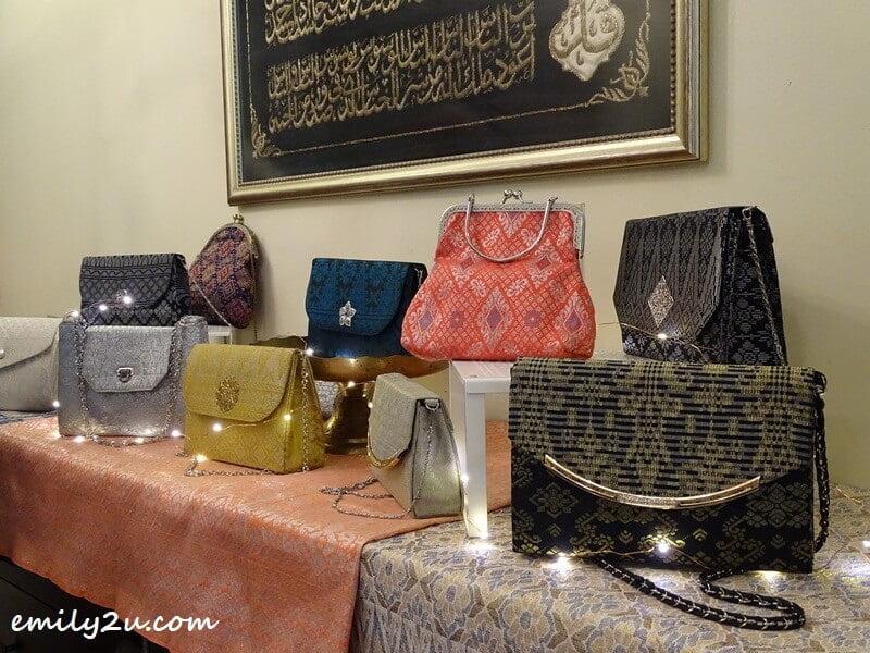 handbags made using songket