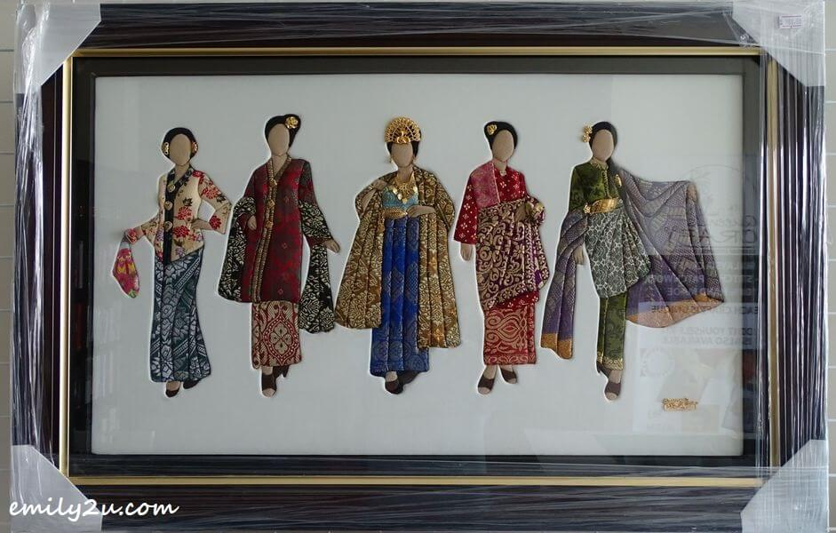 patchwork of traditional costumes