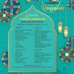 18 Weil Hotel Ramadan Set Dinner menu