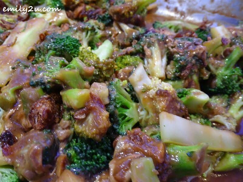 Broccoli Egg Sauce