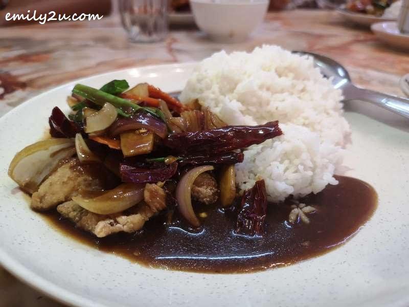 Kong Po Fish Fillet Rice
