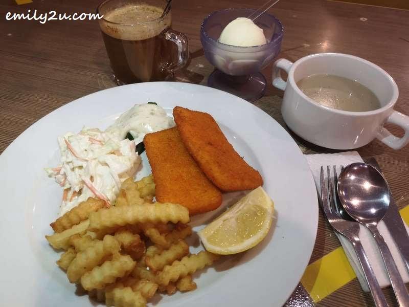 Fish & Chips Set