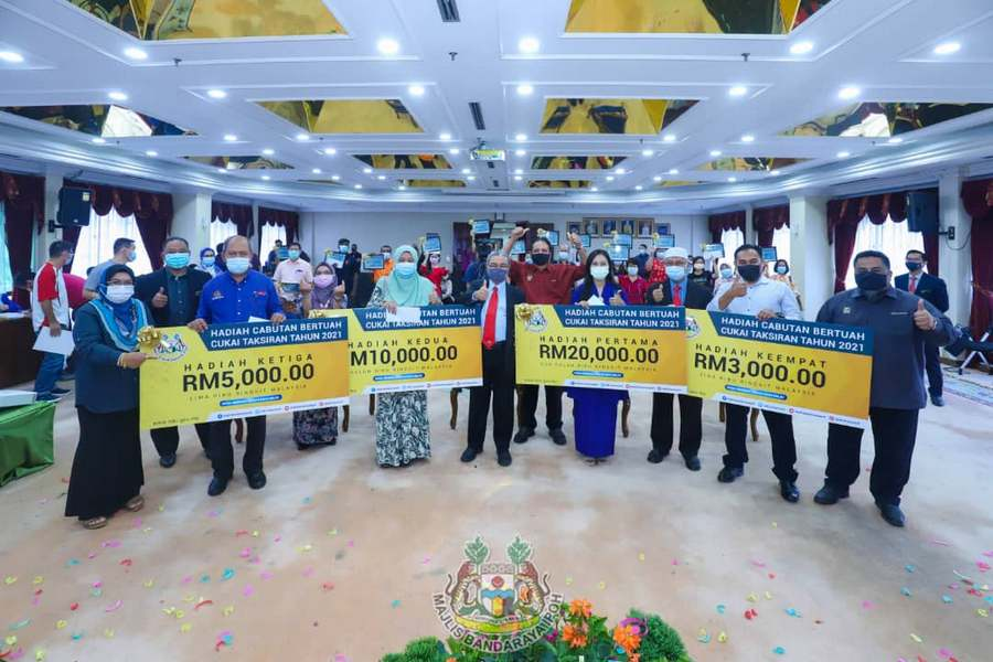 Ipoh City Council 2021 annual assessment tax lucky draw prize giving ceremony