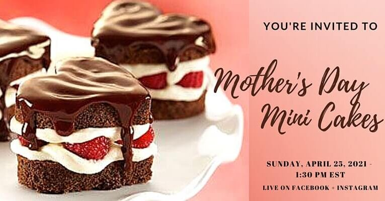 Workshop: Mother's Day Mini Cakes