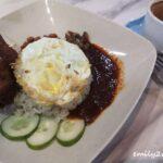 Nasi Lemak Ayam Kunyit