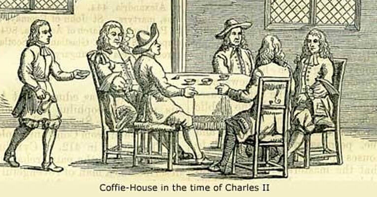 Online: Tea & Coffee in the City – A Virtual Walk from Aldgate to Bank