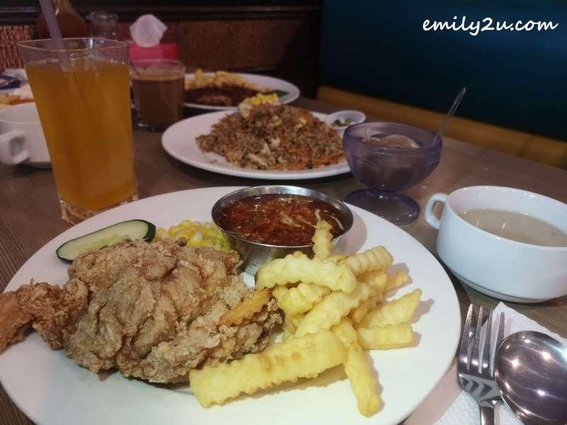 Thai-style Chicken Chop