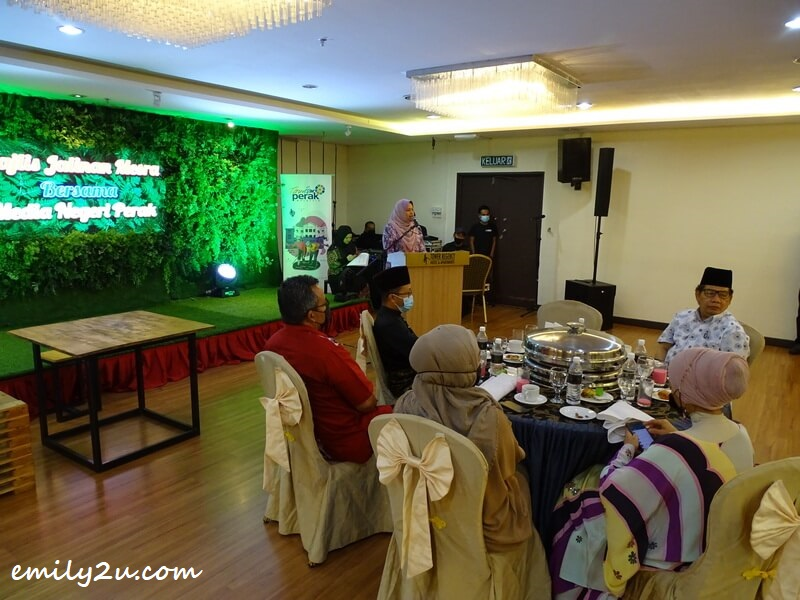YB Dato' Nolee Ashilin Bt. Mohammed Radzi in her opening speech