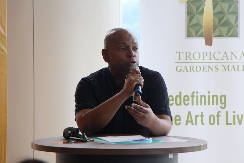 Managing Director of Tropicana Gardens Mall, Andrew Ashvin