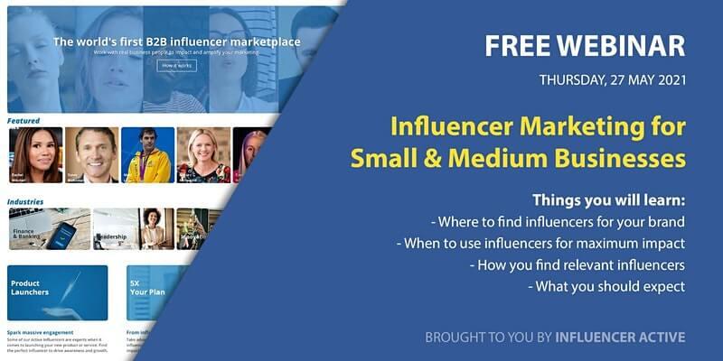 Influencer Marketing for Small & Medium Business