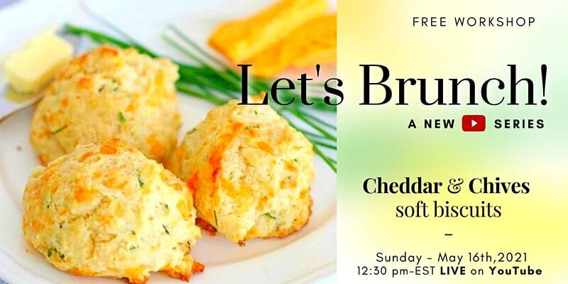 Cheddar & Chives - New YouTube Series - Free Workshop