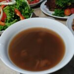 8 Red Bean Soup with Longan