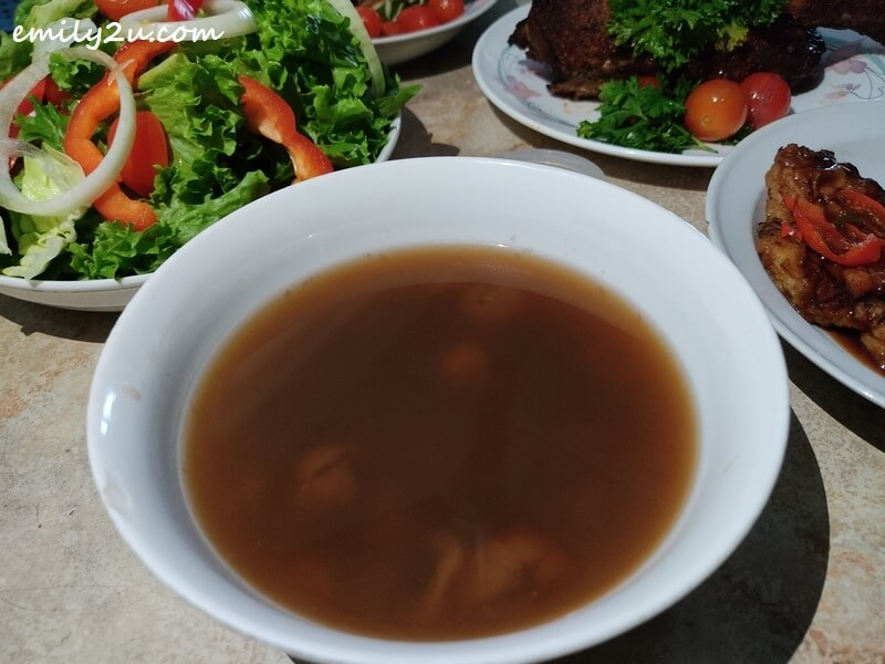 Red Bean Soup with Longan