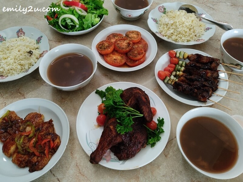 Father's Day Western Set from Travelodge Ipoh Hotel