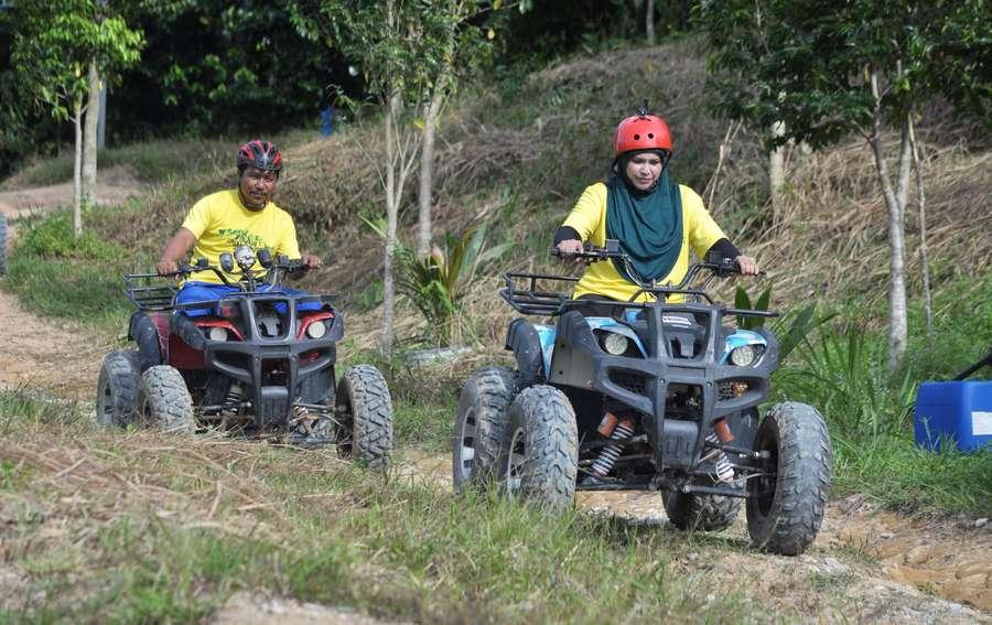 ATV ride at Semenyih EcoVenture Resort & Recreation