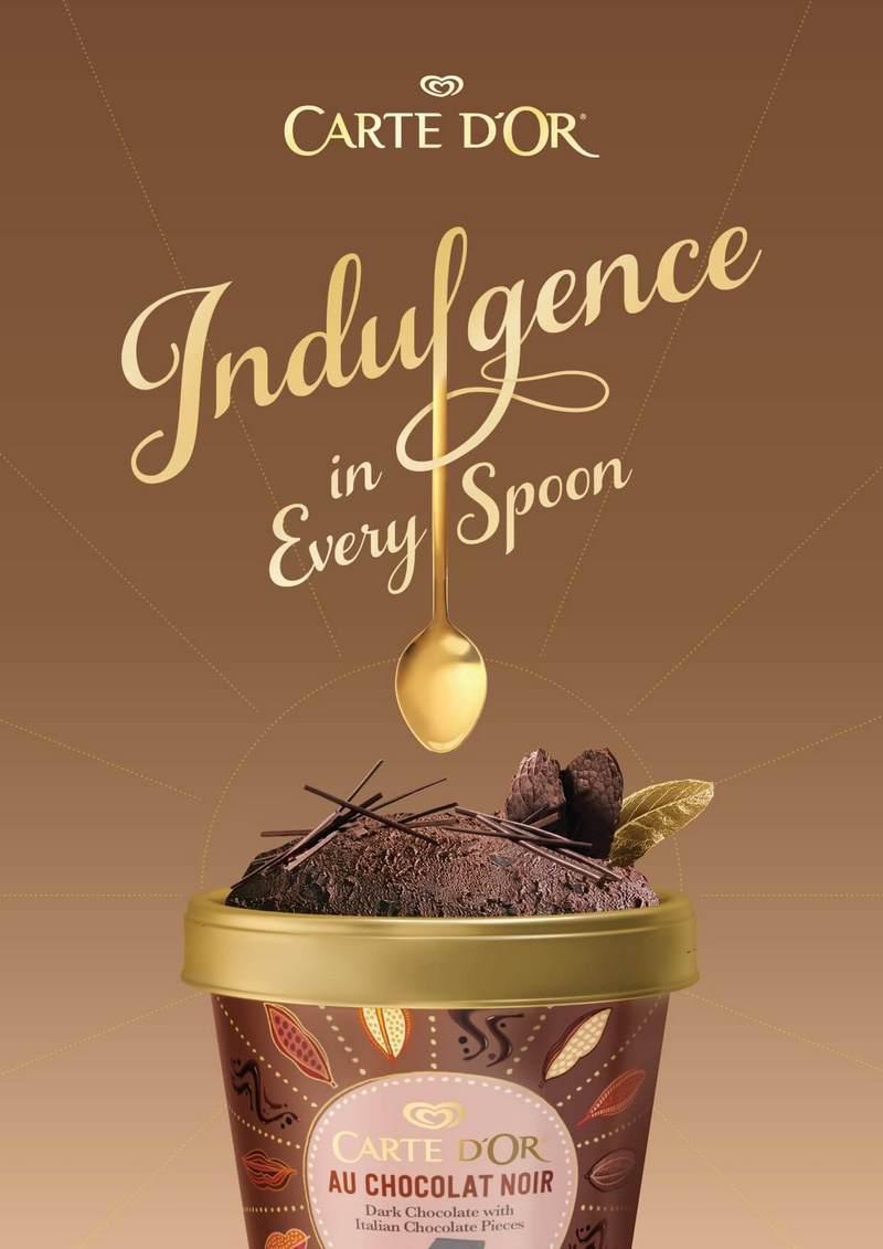 Carte D'Or - Ice Cream Flavour (Chocolate)