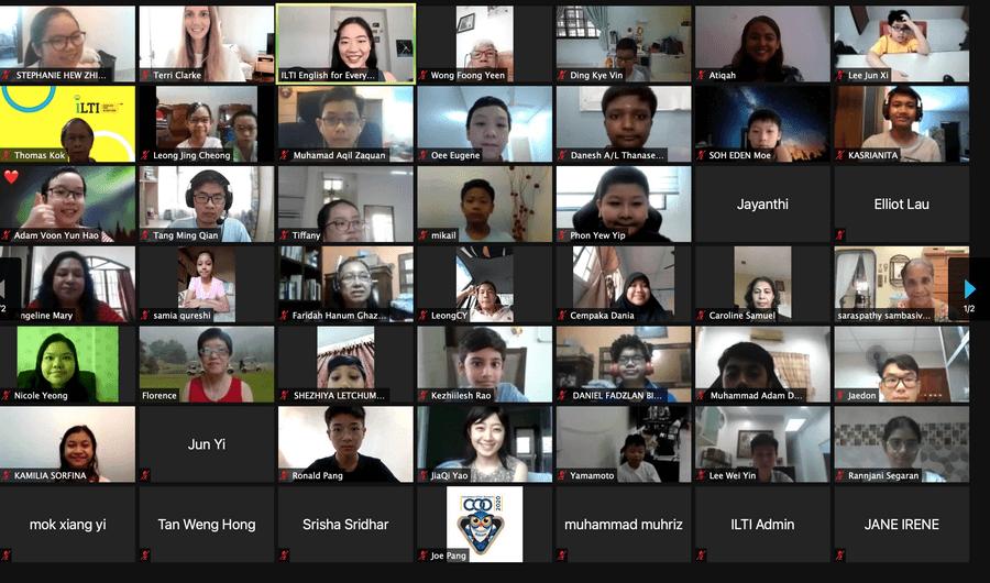 ILTI Graduation 2021 Screengrab