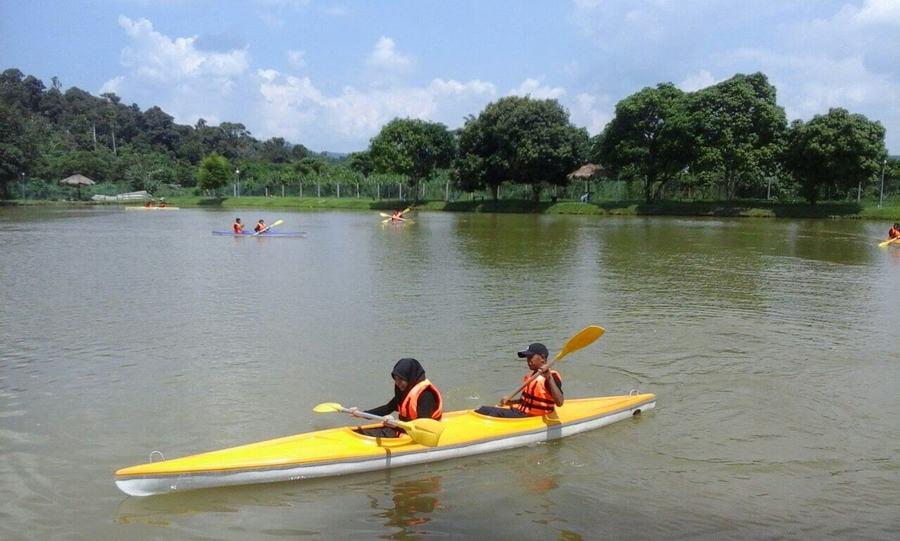 Kayaking provided by Semenyih EcoVenture Resort & Recreation