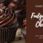 Fudgy Chocolate Cupcakes - Free Workshop on YouTube