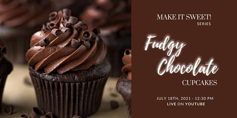 Fudgy Chocolate Cupcakes - Free Workshop