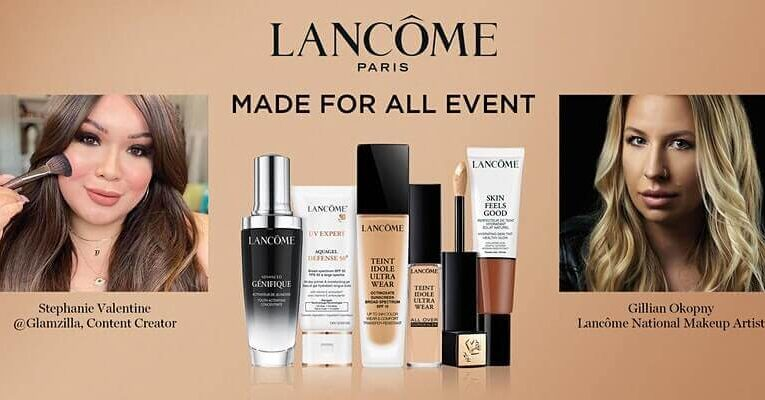 Lancôme Made For All – Find Your Perfect Foundation with @Glamzilla