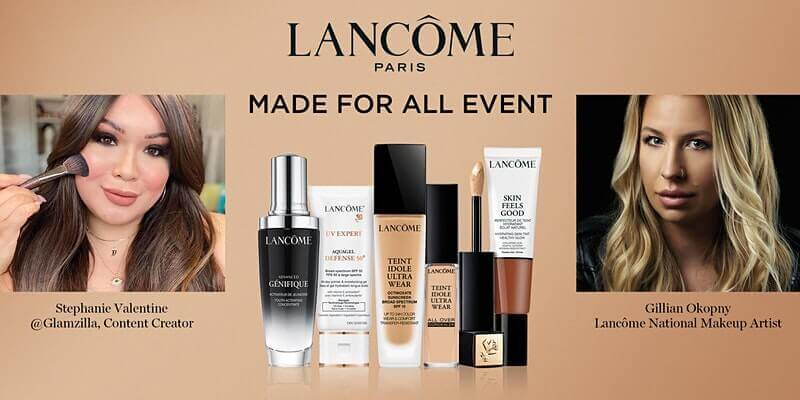 Lancôme Made For All - Find Your Perfect Foundation