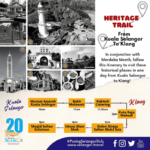 Infographic Heritage Trail