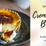 Creme Brulee' Tart Free Workshop