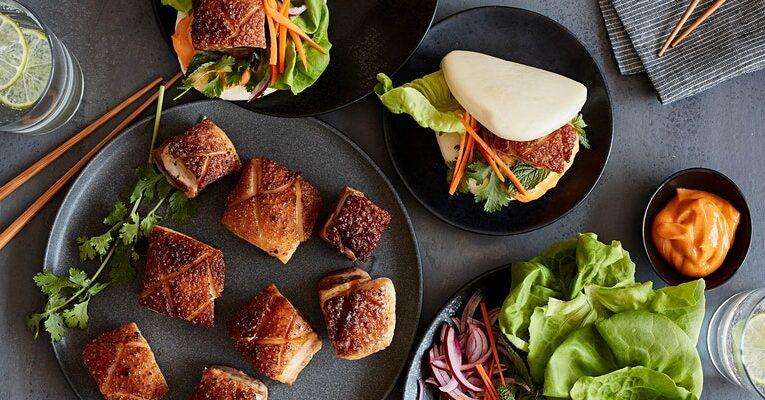 Savoury Pork Belly Buns Cooking Class